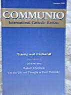 Communio by David L. Schindler