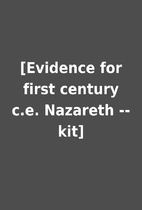 [Evidence for first century c.e. Nazareth --…
