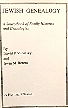 Jewish genealogy : a sourcebook of family…