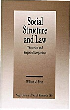 Social Structure and Law: Theoretical and…