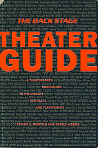 The Back Stage Theater Guide by Trevor R.…