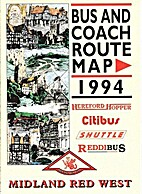 Bus and Coach Route Map 1994 by Midland Red…