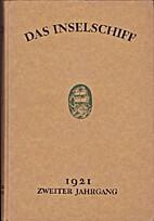 Das Inselschiff Zweiter Jahrgang 1921