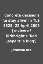 'Concrete decisions to stay alive' in TLS…
