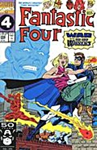 Fantastic Four [1961] #356 by Tom DeFalco