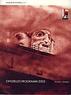 Salzburger Festspiele 2003 by Monika Mertl