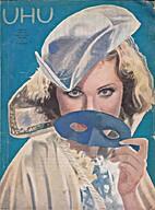 Uhu Heft 5 7. Jahrgang Februar 1931
