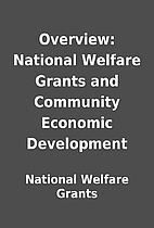 Overview: National Welfare Grants and…