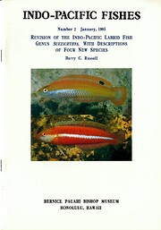 Revision of the Indo Pacific Labrid Fish…