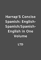 Harrap'S Concise Spanish:…