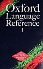 Oxford Language Reference