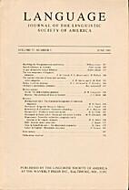 Language 57 (1981) 2: 267-533
