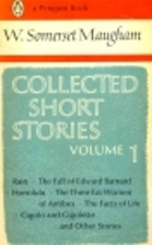 Collected Short Stories, Vol. 1 by W.…