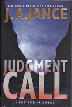 Judgment Call by J. A. Jance