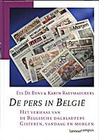De pers in België het verhaal van de…