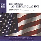 20th Century American Classics by Barber