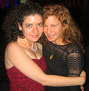 Author photo. Amanda Stern (right) <br>at the National Book Awards 2006<br> (with National Book Foundation staffer Adah Nuchi) <br>Copyright © 2006 <a href=&quot;http://ronhogan.tumblr.com&quot;>Ron Hogan</a>