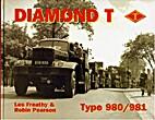 Diamond T Type 980/981 by Freathy