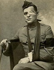 Author photo. Image from <b><i>&quot;And they thought we wouldn't fight.&quot;</i></b> (1918) by Floyd Phillips Gibbons