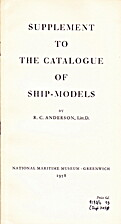 Supplement to The Catalogue of Ship-Models…