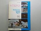 Apollo 15 Preliminary Science Report by…