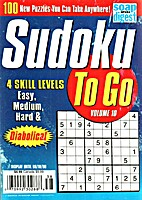 Sudoku To Go, Vol. 10 by websudoku.com