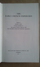 The Early French Exposures by Harry Carr