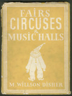 Fairs, circuses and music halls by M. Wilson…