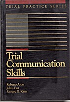Trial communication skills by Roberto Aron