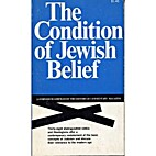The condition of Jewish belief; a symposium…