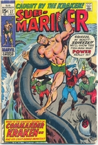 Sub-Mariner #27: When Wakes the Kraken! by…