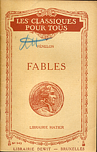 Fables - et opuscules pédagogiques by…