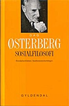 Sosialfilosofi by Dag Østerberg