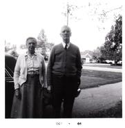 Author photo. Marion & James Thompson, my grandparents.