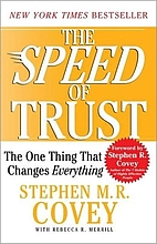 Activity Cards: The SPEED of Trust: The One…