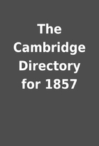 The Cambridge Directory for 1857