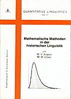 Mathematische Methoden in der historischen…