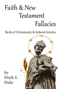 Faith and New Testament Fallacies: Birth of…