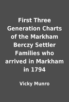 First Three Generation Charts of the Markham…
