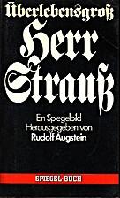Überlebensgroß Herr Strauß…