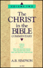 Christ in the Bible Commentary, Vol. 2:…