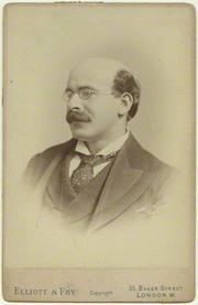 Author photo. Sir Israel Gollancz in the 1890s [credit: Elliott & Fry]