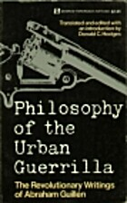 Philosophy of the Urban Guerrilla: The…