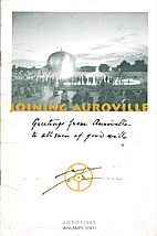 Joining Auroville (brochure)