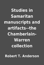Studies in Samaritan manuscripts and…