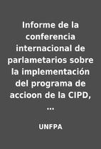 Informe de la conferencia internacional de…