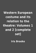 Western European costume and its relation to…