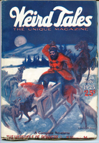 Weird Tales Volume 11 Number 1, January 1928…