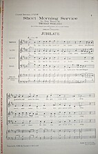Short Morning Service: Jubilate by Thomas…
