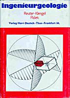 Ingenieurgeologie by Fritz Reuter
